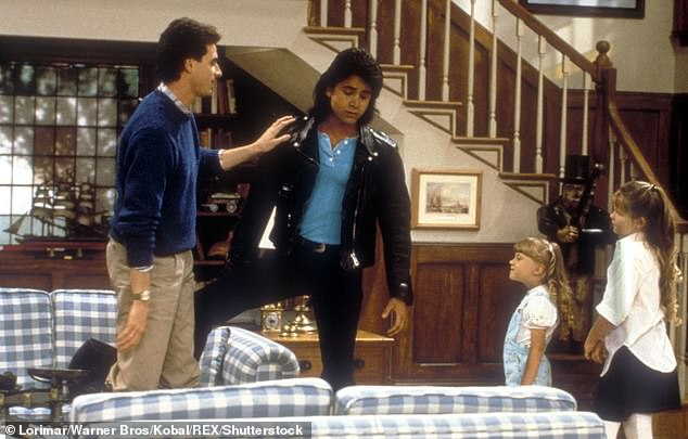 Integral: The sofa was an integral part of the Tanner house on the original Full House sitcom, which lasted eight seasons between 1987 and 1995