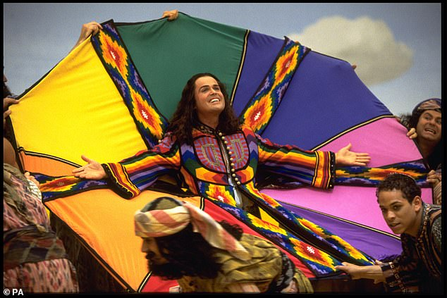 The first musical to be released will be the 2000 version of Joseph And The Amazing Technicolor Dreamcoat, inspired by the West End production and starring Donny Osmond (photo)