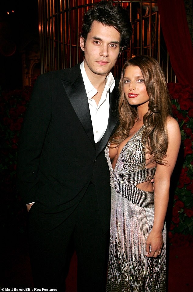 Throwback:His ex-girlfriend Jessica Simpson said in her memoir Open Book that a therapist once suggest that John Mayer 'probably never loved her' and was just 'obsessed with her;' seen together in May 2007 in NYC