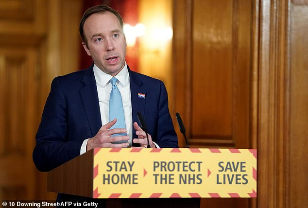 Health Secretary Matt Hancock last night said he was 'delighted to be back' after being diagnosed with coronavirus and having a week of self-isolation