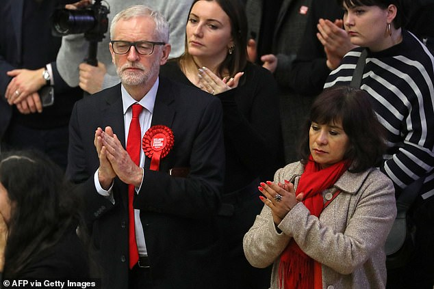 It marks her first serious intervention in politics after his five years in charge of Labour, which included two election defeats, the day before his successor is revealed