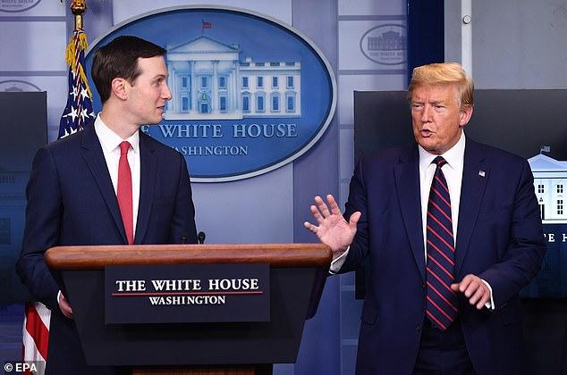Kushner spoke Thursday of getting medical supplies from the White House