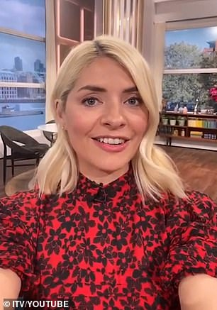Praise: 39-year-old television personality congratulated her 12-year-old husband Dan Baldwin for caring for their three children while she continued working in the midst of COVID-19 isolation