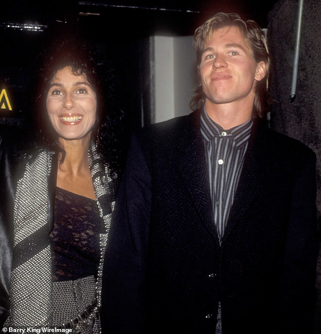 `` His unwavering love and loyalty never die '': Kilmer has particularly kind words for his ex-girlfriend Cher, who allowed him to move into his guest house in Malibu after being diagnosed with cancer throat in 2015 (photo from 1984)
