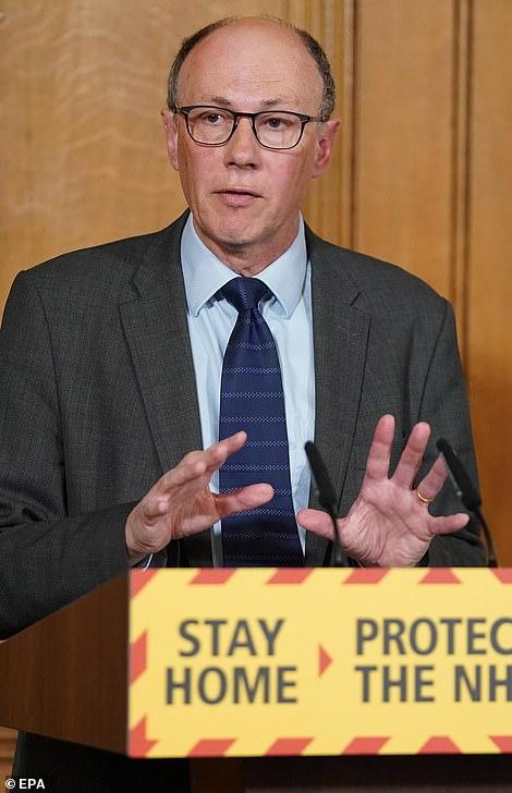 NHS England Medical Director, Professor Stephen Powis