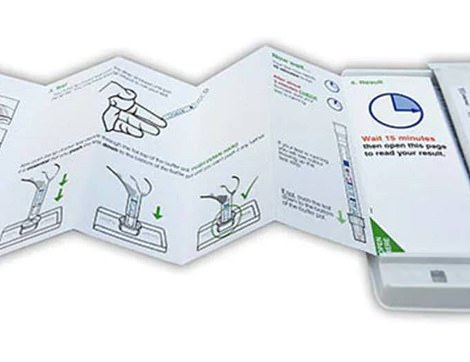 BioSure prétend avoir développé un test de piqûre au doigt à domicile qui prend un quart d'heure
