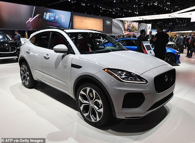 The former test, New European Driving Cycle, was criticised for giving pollution readings lower than the actual levels. The Jaguar E-Pace, pictured, could see a duty rise of £960