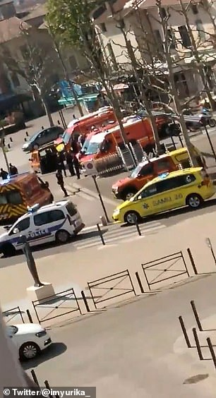 The attacker allegedly shouted
