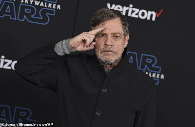 Mark Hamill looks back on the 1976 audition with Carrie Fisher as he thanks the Star Wars fans for