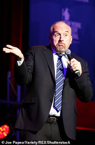 Louis C.K. opens by his surprise comedy special by joking about the sexual misconduct scandal he was involved in