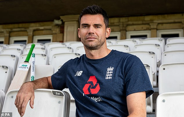 Britain's Jimmy Anderson has no interest in watching a sickly Australian documentary