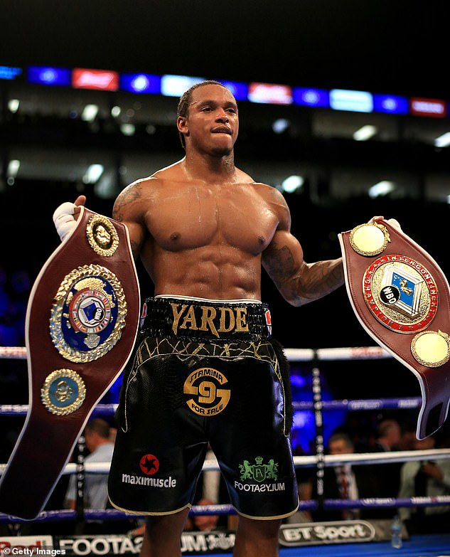 British lightweight Anthony Yarde (photo) last week said his grandmother died of coronavirus just days after his father died of the pandemic
