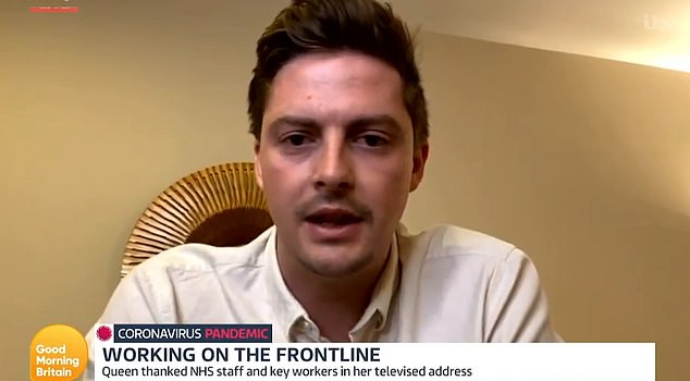 Dr Alex George told Good Morning Britain the things he and other NHS staff have seen on the frontline of the coronavirus pandemic would put the public off the idea of flouting social distancing rules