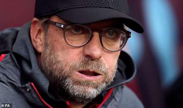 The Reds' wait for a first Premier League title has been delayed a little longer by coronavirus