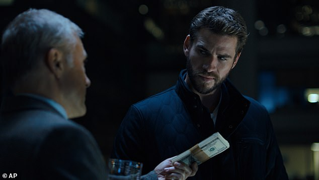 The thriller 'Most Serious Game,' starring Chris Hemsworth (right) was singled out by Hollywood Reporter Television critic Daniel Feinberg as 'completely watchable and the structure sometimes feels episodically effective'