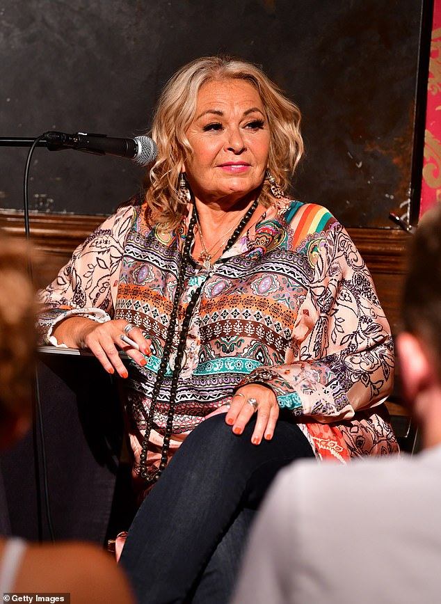 Conspiracy theory:Roseanne Barr claims coronavirus is a ruse to 'get rid of all my generation' by killing off rich boomers; she is seen in 2018