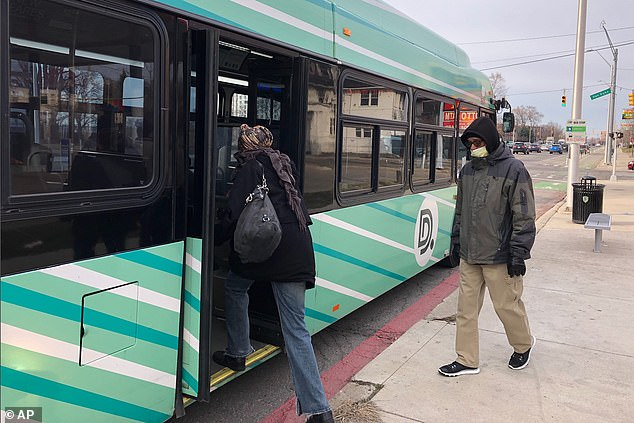 Detroit city promised drivers more routine cleaning and advised them to enter and exit from the rear door only as a means of avoiding contaminated surfaces. They also eliminated fares so they did not have to have direct contact with passengers