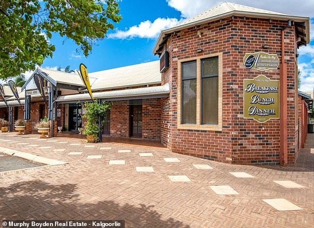 The tapas restaurant and hotel pictured on Hay Street, Kalgoorlie used to run as a notorious brothel that has since sold for $1.5million