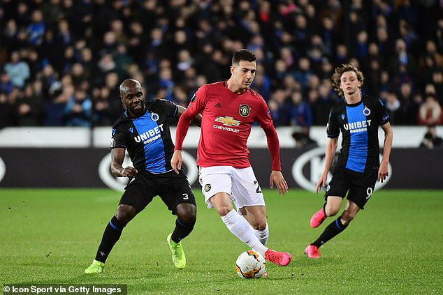 James said defender Diogo Dalot is one of the club's fastest players by his side