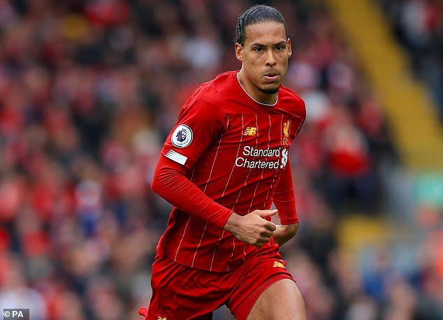 Virgil Van Dijk claims he wants to become a 'legend' at Liverpool
