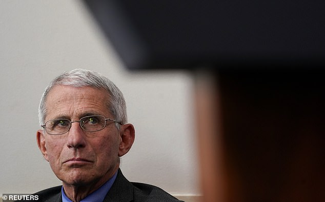 Dr. Anthony Fauci, Director of the National Institute of Allergies and Infectious Diseases, urged caution regarding the use of hydroxychloroquine to treat coronavirus