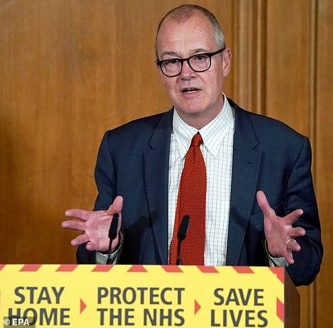 Sir Patrick Vallance, UK chief scientific adviser, said the statistics were starting to show the