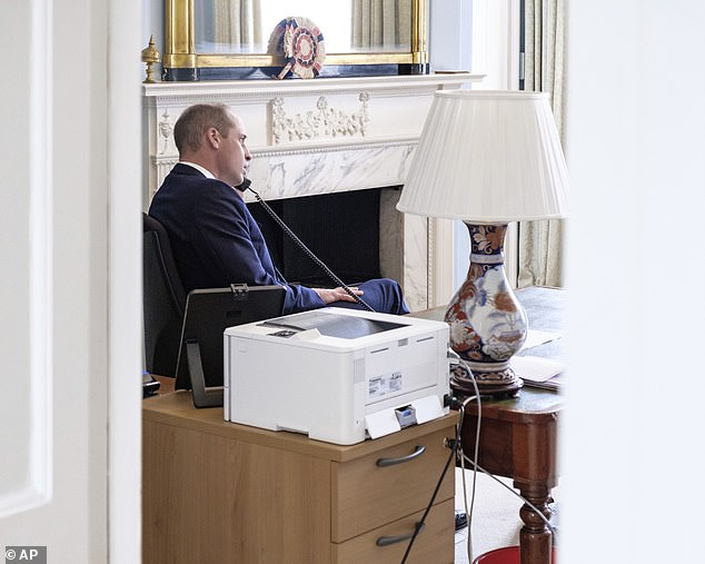 Meanwhile, interior designer Katherine revealed how Prince William's `` stripped back office '' revealed a `` strong work ethic '' and a clear determination to stay focused