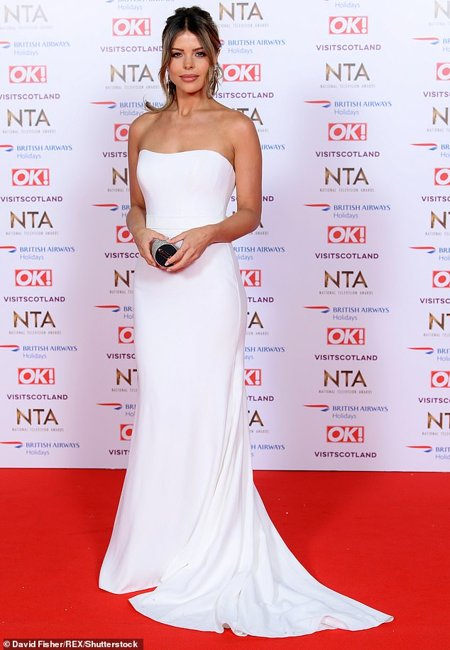 Formerly: Chloé made a glamorous appearance at the 23rd National Television Awards in 2019, and her complexion did not look different after two weeks of isolation on Wednesday