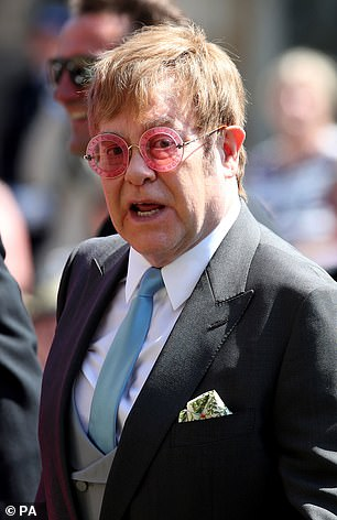 And pop superstar Elton John - a friend of late Harry Diana's mother and owner of a $ 33 million mansion in Beverly Hills - is also likely to date the couple in demand.