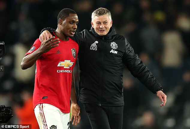 Odion Ighalo is pleased with how he has settled at Manchester United since joining