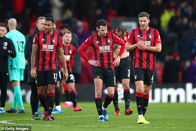 Bournemouth relies on TV offers - broadcasters' money accounts for 88% of revenues