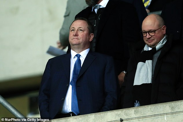 Mike Ashley has other problems in his bac and Newcastle will not be his priority for the moment
