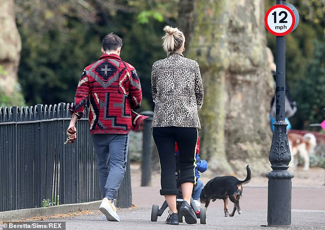 Honest: Vogue told Hello! that while the couple are 'excited' to expand their family, they 'had a few bumps in the road this time round'