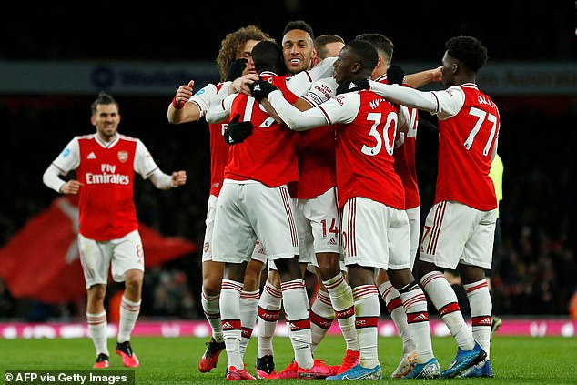 Arsenal is one of four clubs to record positive net current assets