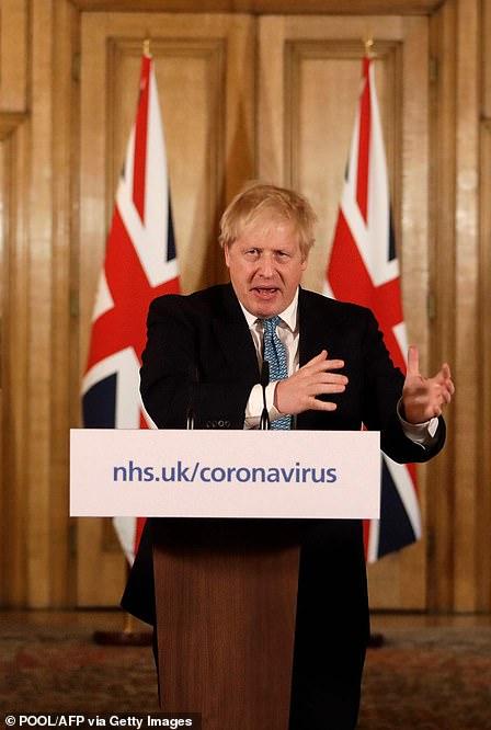 Boris Johnson April 1