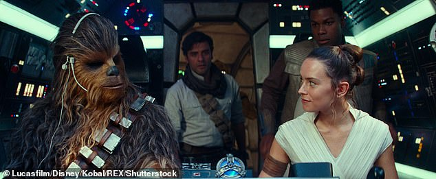 'January was not that nice':Meanwhile, Daisy revealed she found the negative reaction to Star Wars: The Rise Of Skywalker 'really tricky' following its release in December last year