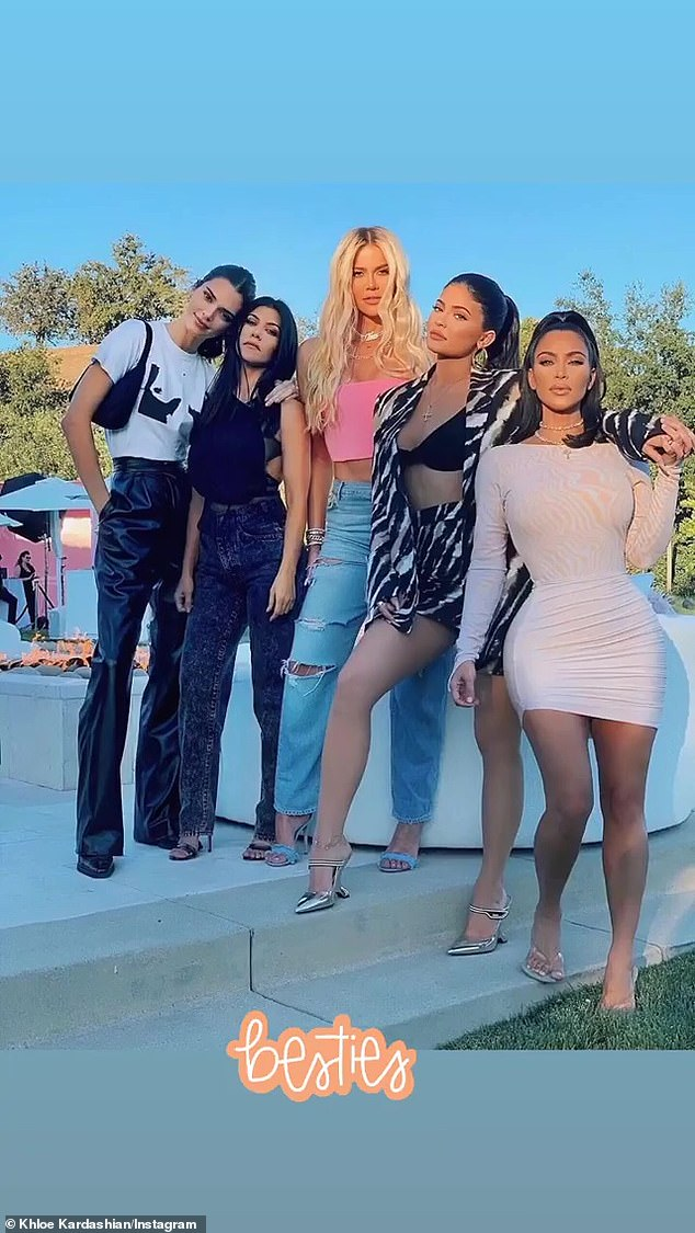 Family first: She also briefly showed her camera which she uses to film KUWTK: `` We document ourselves throughout our days and record a certain number of hours and do certain things and do our work '' ''
