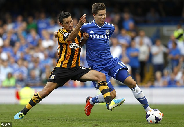 The midfielder has made four appearances for the Blues since arriving for 8 million pounds in 2013