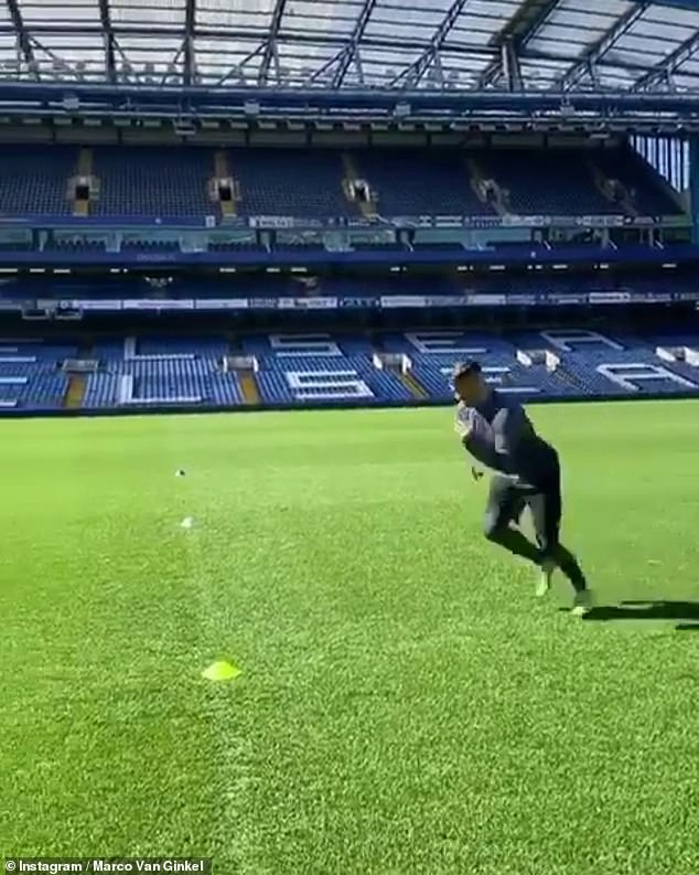 Chelsea kept Stamford Bridge open so players can finish their individual training sessions