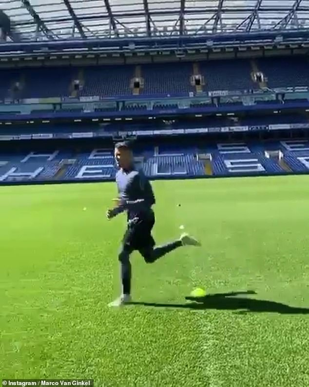 Marco van Ginkel is one of those who live close enough to the ground to use the facilities