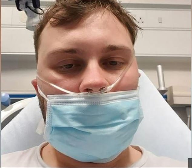 He has now recovered from his horrible week-long ordeal at the Royal Edinburgh Infirmary and has urged others to stay home