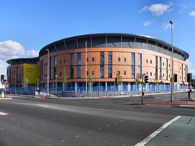 The office is managed by the Salford Royal NHS Foundation Trust, which runs the Salford Royal Hospital (photo)