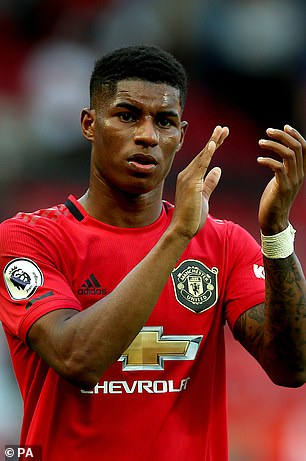 Marcus Rashford has played with Kane internationally with a lot of effect