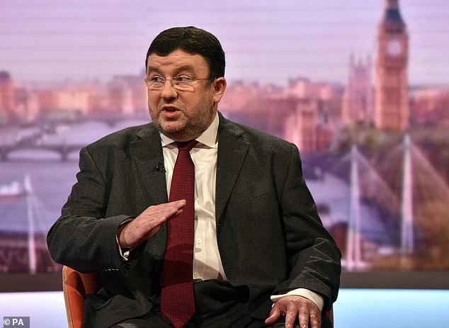 Chris Hopson (pictured on Andrew Marr), whose organization represents 217 NHS trusts with more than one million employees, said that China was the only global supplier of dresses on which the United Kingdom now builds.