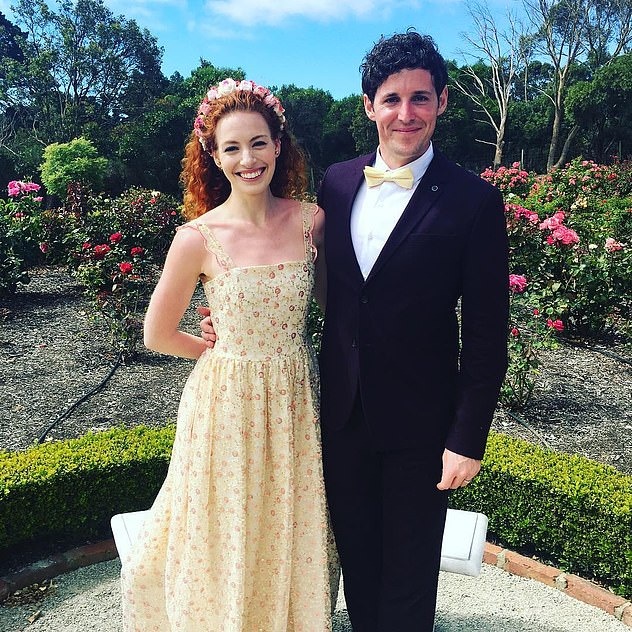 Back to co-stars!Emma and Lachlan (pictured) joined The Wiggles in 2013, started dating weeks later, married in 2016 and then announced their split in August 2018
