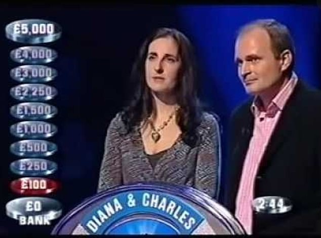 Shocker: And while their infamous cheating scandal hit the headlines, Twitter users were shocked as their thirst for glory at the height of their 2000s resurfaced on Twitter - including turns on Wife Swap and The Weakest Link (photo from 2006)