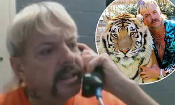 Tiger King star Joe Exotic is in talks with US broadcaster to host his own  radio show from prison | Daily Mail Online
