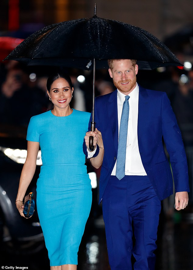Principal real estate agent, 41, sells luxury homes in Pasadena, an eastern suburb of Los Angeles, where Meghan, 38, and Harry, 35, were reportedly looking at properties