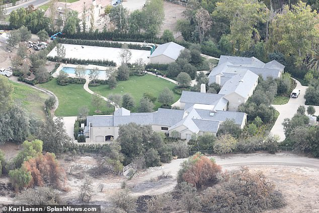 West and his wife, Kim Kardashian, own four lavish properties scattered across the United States. The couple's main residence is a $ 19 million mansion located in Hidden Hills, Calabasas. They would have spent an additional $ 20 million on extensions and renovations.