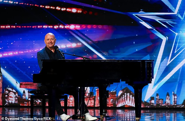 Talented: pianist Jon Courtenay will try to impress the judges during the hearings